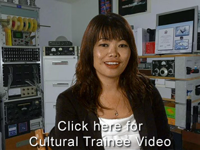 Cultural Exchange Trainee Video